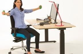 Aktion Gesunder Rücken e. V.: Sitzen, stehen & bewegen: Das rückengerechte Büro