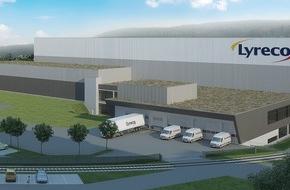 Lyreco Switzerland AG: Lyreco Switzerland AG erweitert sein Betriebsgebäude