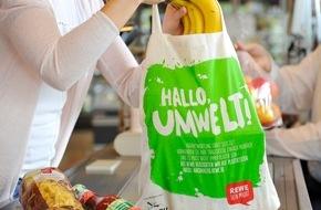 REWE Markt GmbH: REWE verzichtet zukünftig auf Verkauf von Plastiktüten
