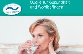 Informationsbüro Heilwasser: Neuer Heilwasser-Ratgeber zeigt bewährte Methoden, um Beschwerden natürlich zu lindern