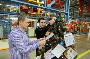 Ford-Werke GmbH: Adventszeit inspiriert Ford-Beschäftigte zu vielfältigen Weihnachtsaktionen für bedürftige Menschen (FOTO)