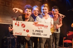 Coca-Cola Schweiz GmbH: «The Bullet» remporte le MyCokeMusic Soundcheck 2013