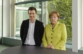 HPI Hasso-Plattner-Institut: Merkel vor Hamburger IT-Gipfel: Geschickte Digitalisierung schafft mehr Jobs als sie kostet / Scholz: Digitale Transformation wird in Hamburg gestaltet