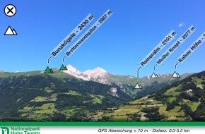 Nationalpark Hohe Tauern und Tiroler Naturparks: Gipfeltreffen am Handy - Nationalpark mit neuer Handy APP am Start - BILD