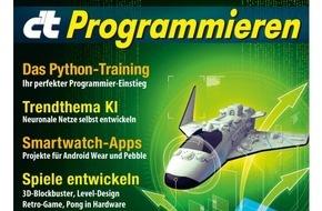 c't: c't Sonderheft Programmieren / Einstieg leicht gemacht