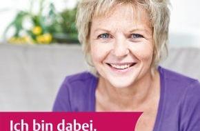 """Kooperationsgemeinschaft Mammographie: Brustkrebsmonat Oktober: Einfach mehr wissen! / Mammographie-Screening startet Aktion """"Ich bin dabei"""""""