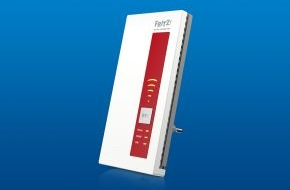 AVM GmbH: Der intelligente WLAN-Profi FRITZ!WLAN Repeater 1750E ist ab sofort im Handel erhältlich (FOTO)