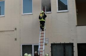 Freiwillige Feuerwehr Lage: FW Lage: Gemeinsame Übung der Löschzüge Kachtenhausen und Lage sowie dem Malteser Hilfsdienst am Montag, dem 06.06.2016