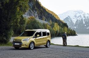 Ford-Werke GmbH: Ford Connect-Baureihe: Jetzt mit 1,5-Liter-TDCi-Dieselmotor und zusätzlichen Assistenz-Technologien bestellbar