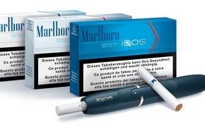 Philip Morris S.A.: Philip Morris S.A. lanciert iQOS in der Schweiz, ein revolutionäres System das den Tabak erhitzt