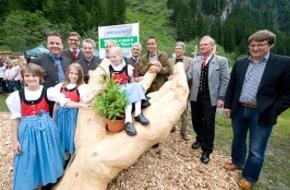 Nationalpark Hohe Tauern und Tiroler Naturparks: Bundespräsident Dr. Heinz Fischer und Umweltminister DI Niki Berlakovich eröffnen Klimaschule