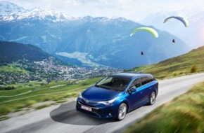 Toyota Schweiz AG: Der neue Toyota Avensis - Elegant, dynamisch und effizient