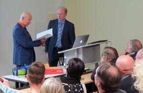 Hochschule Fresenius: Der molekulare Fingerabdruck / Antrittsvorlesung am Fachbereich Chemie & Biologie