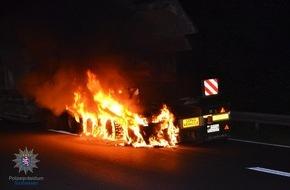 LKW Reifenbrand