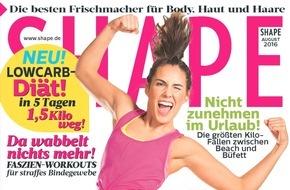 Bauer Media Group, Shape: Jetzt in SHAPE: Proteine als Muskelturbo - Wie viel Eiweiß brauche ich?