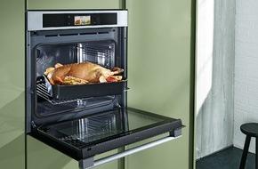 Panasonic Deutschland: Panasonic setzt die Küche unter Dampf / 3-in-1 Kompaktbackofen - ein Alleskönner