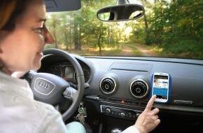 AXA Konzern AG: Verkehrssicherheit: Mit der App zum besseren Fahrstil (FOTO)