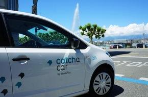 Catch a Car AG: Catch a Car arrive à Genève