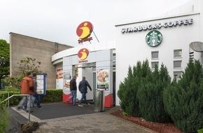Autobahn Tank & Rast: Tank & Rast und Starbucks starten gemeinsam auf deutschen Autobahnen