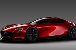 Mazda: Mazda präsentiert Sportwagen-Konzept RX-Vision mit Kreiskolbenmotor auf der Tokyo Motor Show