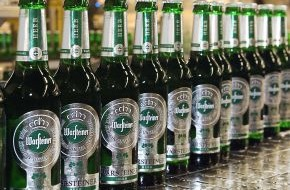 Warsteiner Brauerei: Warsteiner wächst 2012 im In- und Ausland / Die Privatbrauerei stärkt ihre Position auf dem deutschen Biermarkt und sieht weiteres Wachstumspotential in 2013