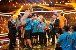 """SAT.1: Prime-Time-Sieg für SAT.1! Starke 14,5 Prozent für """"The Biggest Loser""""-Finale / Sieger Ali verliert 86,4 Kilo und gewinnt 50.000 Euro"""