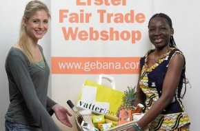 claro fair trade AG: Miss Schweiz kauft fair - Erster Fair Trade-Webshop gebana.com