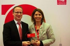 "Santander Consumer Bank AG: Santander Consumer Bank ist ""Top Arbeitgeber Deutschland 2014"""