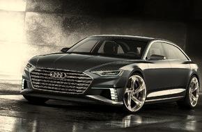 Audi AG: Sportlich-elegant, vielseitig und vernetzt - das Showcar Audi prologue Avant