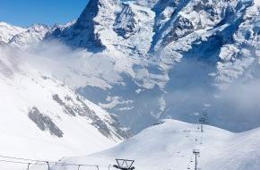 Schilthornbahn AG: Pünktlich zum Ferienbeginn: Beste Pistenverhältnisse im Skigebiet Mürren - Schilthorn