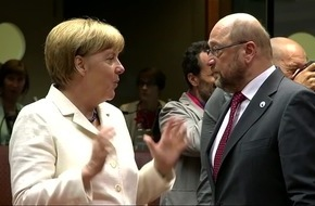 Das Duell - Merkel gegen Schulz / Ein Film von Stephan Lamby am Dienstag, 12. September 2017, 22:45 Uhr im Ersten