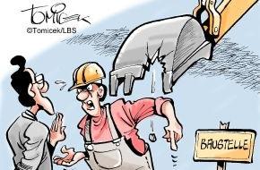 Bundesgeschäftsstelle Landesbausparkassen (LBS): Grund nicht untersucht / Bauunternehmer erhielt keine Zusatzvergütung für Erschwernisse
