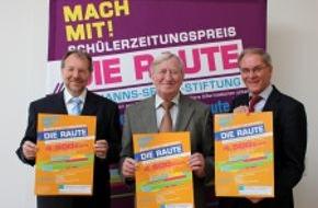 Hanns-Seidel-Stiftung: Ausschreibung Schülerzeitungspreis DIE RAUTE / Hanns-Seidel-Stiftung verleiht Preise im Oktober in München