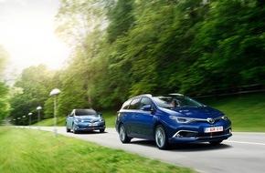 Toyota Schweiz AG: Der neue Toyota Auris - starker Auftritt und neue Motoren