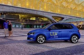 Skoda Auto Deutschland GmbH: Mit SKODA zur LEA-Gala 2015
