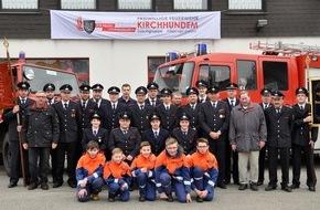 Feuerwehr Kirchhundem: FW-OE: Die Löschgruppe Welschen Ennest der Freiwilligen Feuerwehr der Gemeinde Kirchhundem feiert in diesem Jahr ihr 90-jähriges Bestehen