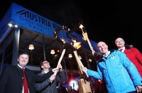 Tirol Werbung: Das Herz der Tiroler Gastfreundschaft brennt in Sotschi: Austria Tirol House feierlich eröffnet