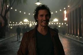 Wild Turkey startet neue globale Werbekampagne mit Kreativdirektor Matthew McConaughey