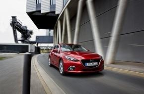 Mazda: Neuer sparsamer SKYACTIV Diesel im Bestseller Mazda3