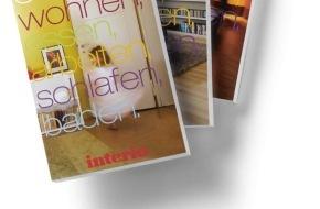 Interio AG: Interio Buch 2011-12: Ab sofort in allen Interio Einrichtungshäusern und DEPOT-Interio Boutiquen