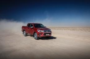 Toyota Schweiz AG: Nouveau Toyota Hilux - Une nouvelle ère pour le pick-up