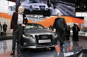 "Audi AG: ""A yelled Hello"" bei der Weltpremiere des Audi A5"