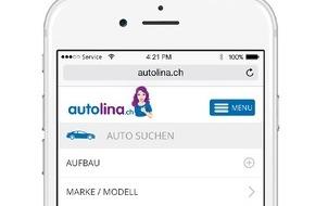 autolina.ch: autolina.ch - die exklusive Autoplattform mit brandneuen Funktionen und Zielgruppenerweiterung