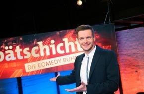 """SWR - Südwestrundfunk: """"Spätschicht - Die Comedy-Bühne"""" erstmals im Ersten / Florian Schroeder und Gäste am Do., 22.10., 22.45 Uhr / Lisa Fitz, Rüdiger Hoffmann und andere"""