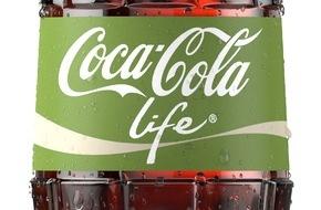 Coca-Cola Schweiz GmbH: Natürlich schmeckt's: Coca-Cola Life kommt in die Schweiz