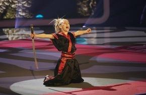 SAT.1: Mini-Bruce Lee in SAT.1 - Die zehnjährige Jesse Jane begeistert mit Kung Fu (FOTO)