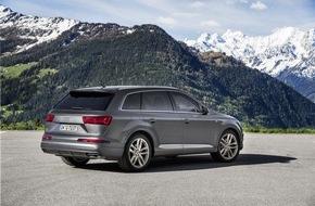 Audi AG: Audi startet mit Absatz-Bestmarke ins neue Jahr