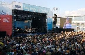 NDR Norddeutscher Rundfunk: Roger Cicero begeistert auf der Kieler Woche