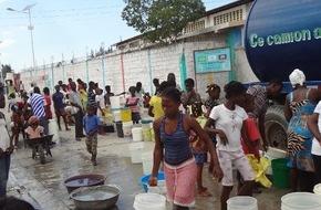 nph deutschland e.V.: Dauerthema Cholera: Sauberes Trinkwasser ist Haitis größtes Manko