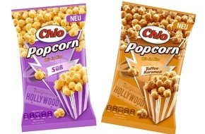 Intersnack Knabber-Gebäck GmbH & Co. KG: Chio Popcorn - jetzt fertig gepoppt für Popcorngenuss wie im Kino